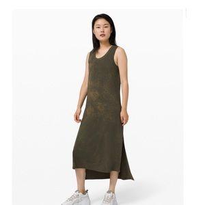 Lululemon Olive Green Maxi Dress